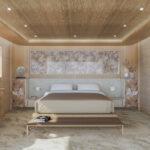 bedroom Bioblu interior yacht yachting superyacht design style biophilic biophilic biofilico biofilia
