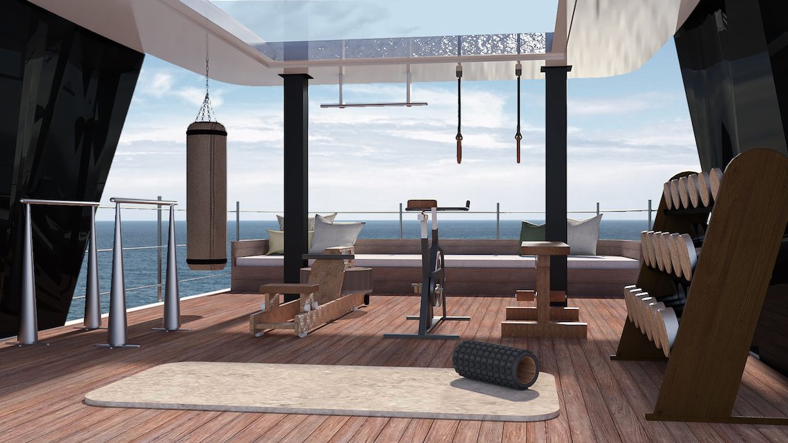 sustainable yachting trend onboard fitness