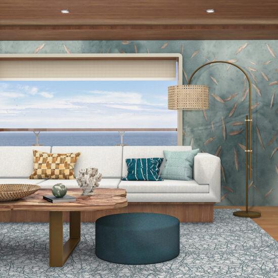 sustainable yachting interiors biophilic design