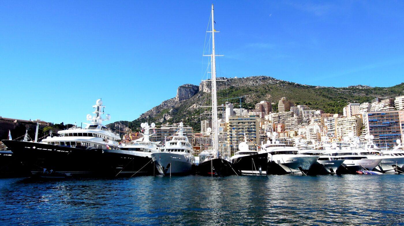 Monaco Capital Of Yachting