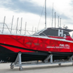 Yanmar Prototype fuel cell boat hit the water